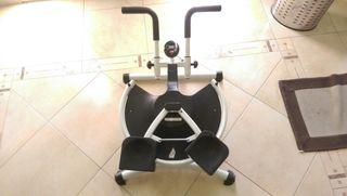 . máquina de gimnasia do Twitter