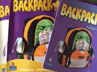 BackaPack 5 Pearson Logman