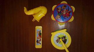 Lote instrumentos musicales de juguete