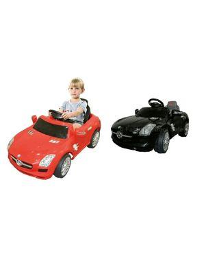 Mercedes Benz SLS niños coche eléctrico rojo/negro