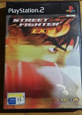Street fighter Ex3 ps2