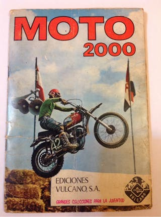 Album cromos de motos