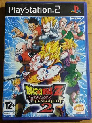 Dragon ball Z Budokai tenkaichi 2 ps2