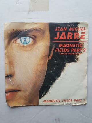DISCO SINGLE VINILO DE JEAN MICHEL JARRE