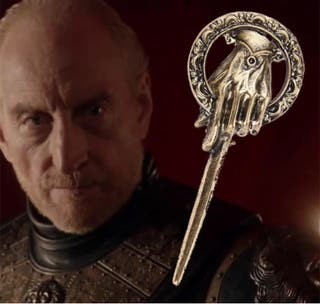 """Adorno imperdible """"Mano Del rey"""" Game Of Thrones"""