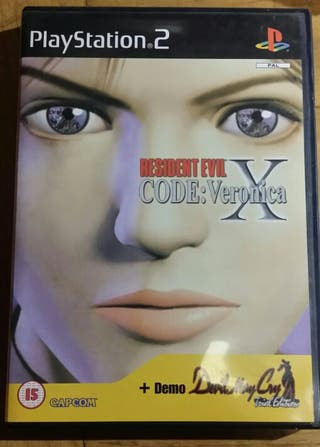 Resident evil code:Veronica X ps2