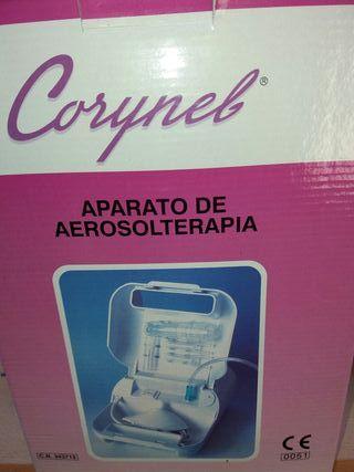 aparato aerosolterapia corynel
