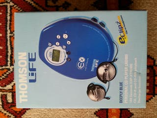 Deeply Blue Personal CD Player LAD889