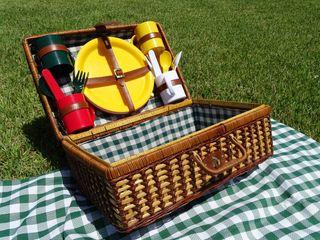 cesta picnic + mantel