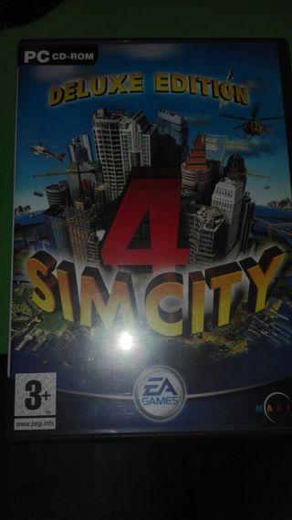 Sim city 4 Deluxe edition.