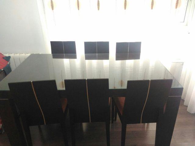 Mesa comedor y sillas de segunda mano por 500 € en Canals en WALLAPOP