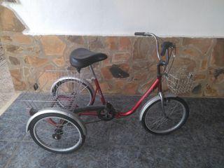 bicicleta triciclo MONTY