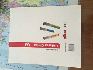 Libro de texto Fisika eta Kímika
