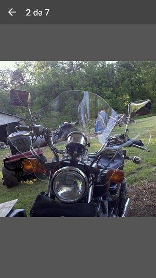Para vientos moto custom