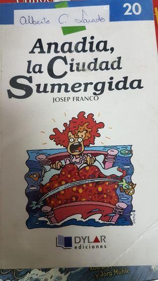 libro texto Anadia la ciudad Sumergida