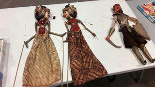 Marionetes artesanals antigues
