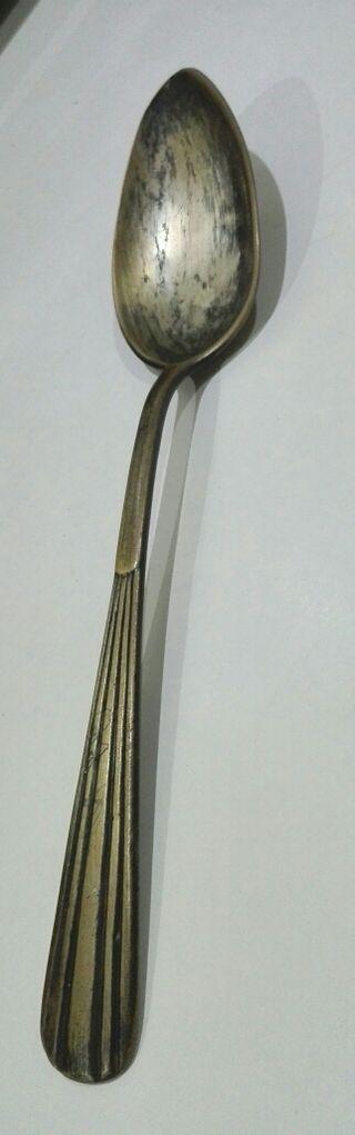 cuchara de plata muy antigua