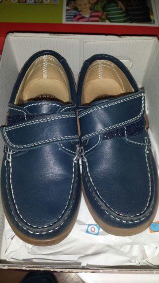 zapatos nauticos de niño
