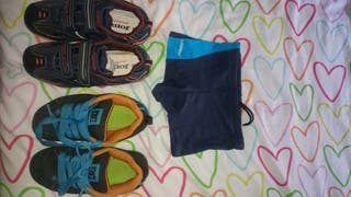 Zapatillas, y bañador de regalo por todo el conjunto