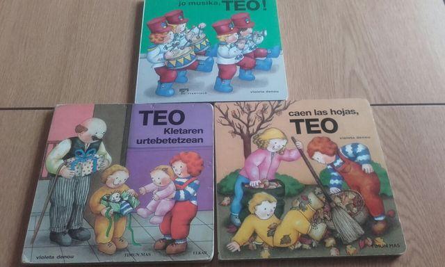 libros de Teo para muy peques