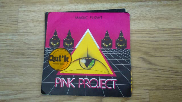 disco vinilo Pink Project- Magic Flight