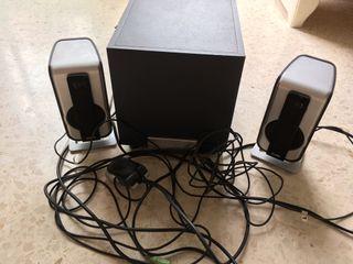 Altavoces ordenador philips