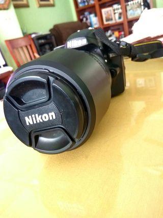 Objetivo Nikkor 70-300mm.