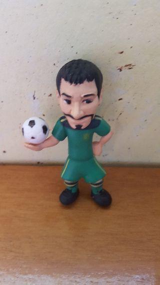 figura pvc goma selección española Casillas