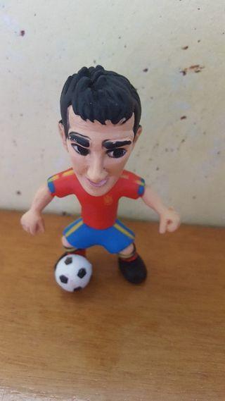 figura pvc goma selección española Cesc