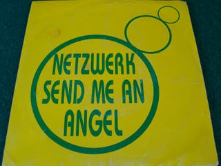 "NETZWERK SEND ME AN ANGEL.- SINGLE VINILO 7""."
