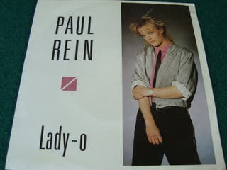 "PAUL REIN.-LADY-O- SINGLE VINILO 7""."