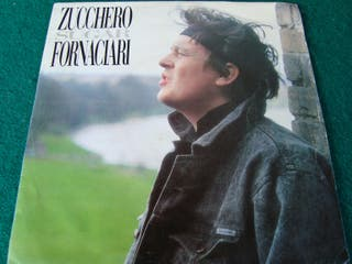 "ZUCCHERO SUGAR FORNACIARI.- SINGLE VINILO 7""."