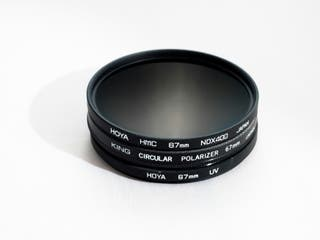 Pack de filtros 67mm - Hoya NDX400 - King Po