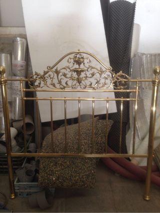 Cabecero cama piecero