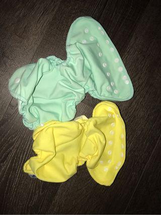 Pack cobertores - pañal tela