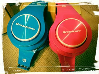 Cascos Broadcore bluetooth microSD