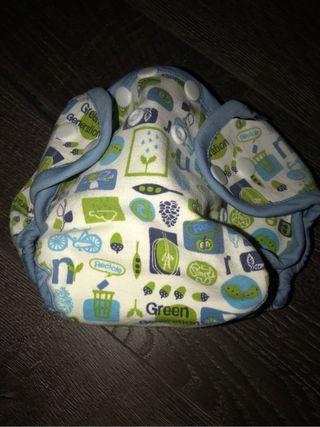 Cobertor pañal de tela