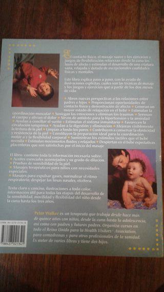 libro masaje bebés