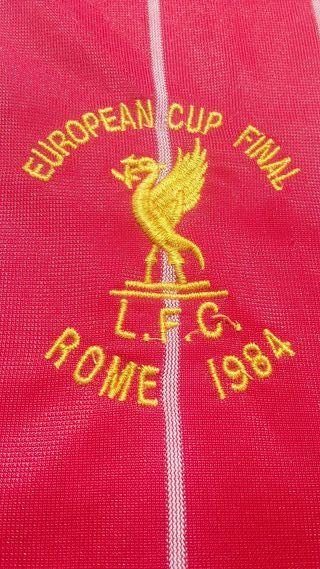 Camiseta Liverpool Final Roma 1984