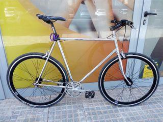 bici fixie hibrida urbana