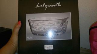 fuente cristal de bohemia