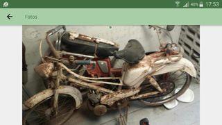 Restauración de motos y artículos antiguos