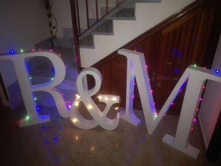 letras de corcho para bodas y eventos