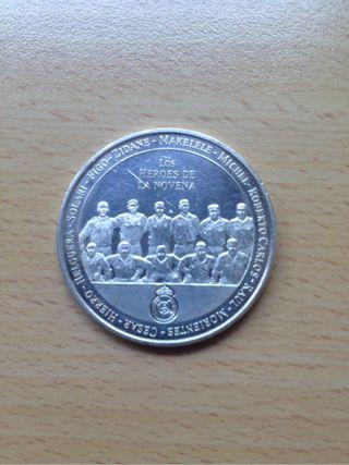 Moneda Plata Real Madrid