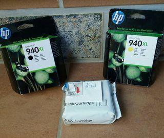 tinta impresora HP 940xl