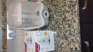 Esterilizador biberones + calientabibebrones