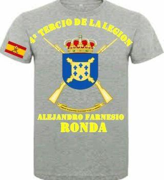 Camiseta 4° Tercio D. Alejandro Farnesio