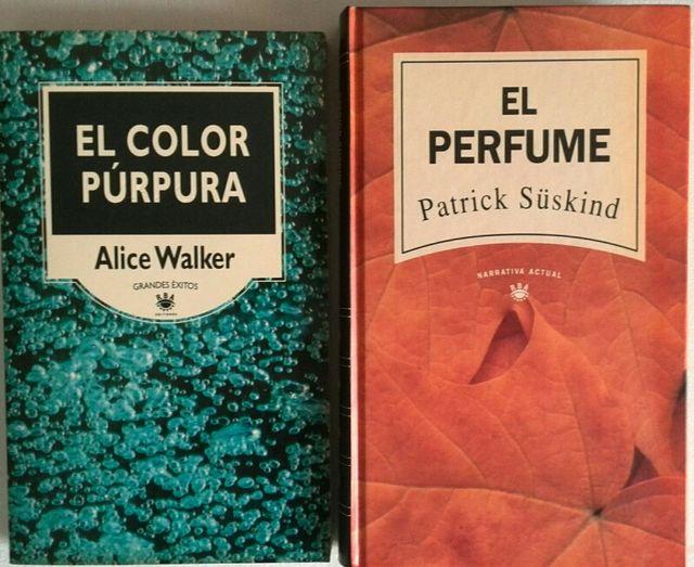 Libros El color purpura, El perfume. de segunda mano por 3 € en ...
