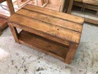 Mesa rustica centro madera de palet madera nueva de segunda mano por