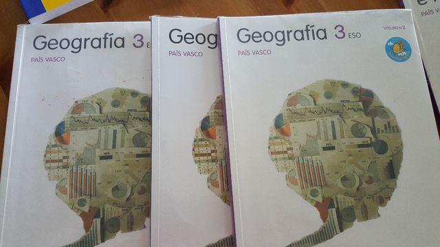libros geografia 3 eso